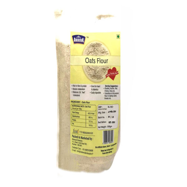 ANIRINK OATS FLOUR 500GM